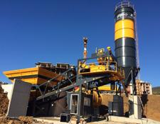 Fabo TURBOMIX 60 MOBILE READYMIX BATCHING PLANT FOR SALE