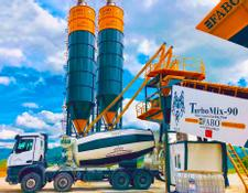 Fabo TURBOMIX 90 MOBILE READYMIX BATCHING PLANT FOR SALE