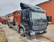 Ditch Witch HX75 Suction Excavator mounted on Mercedes-Benz Atego 1224