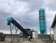 Constmach cement silo 50 TONNES CAPACITY WELDED TYPE CEMENT SILO, READY FOR DELIVERY