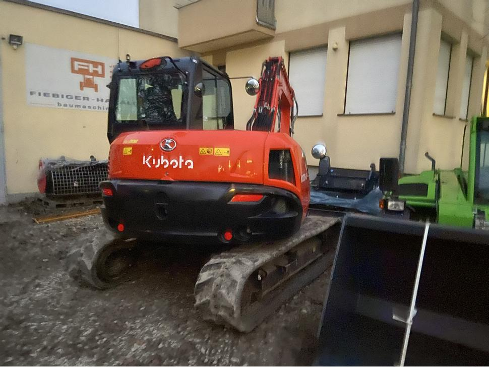 Kubota KX 080-4alpha Powertilt. HS 08