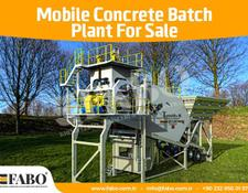 Fabo TURBOMIX-60 MOBILE CONCRETE MIXING PLANT