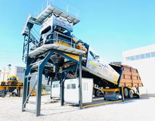 Fabo TURBOMIX-100 Mobile Concrete Batching Plant