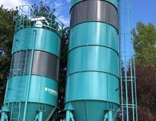 Constmach cement silo 50 TONNES CAPACITY CEMENT SILO, READY FOR DELIVERY
